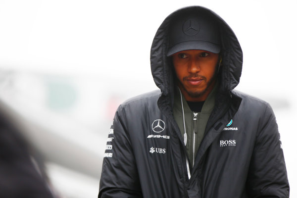 Shanghai International Circuit, Shanghai, China.  Sunday 09 April 2017. Lewis Hamilton, Mercedes AMG. World Copyright: Andy Hone/LAT Images ref: Digital Image _ONZ5497