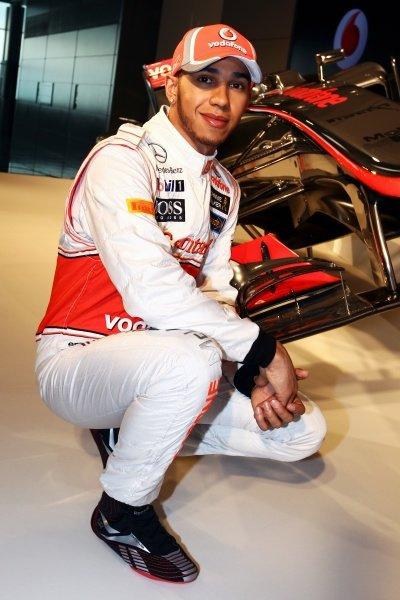 Lewis Hamilton (GBR) McLaren. McLaren MP4-27 Launch, McLaren Technology Centre, Woking, England, 1 February 2012.