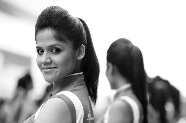 Girl. Formula One World Championship, Rd17, Indian Grand Prix, Buddh International Circuit, Greater Noida, New Delhi, India, Race, Sunday 28 October 2012.