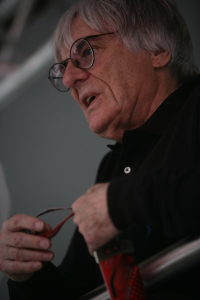 2006 San Marino Grand Prix - Thursday Preview Imola, Italy. 20th - 23rd April 2006 Bernie Ecclestone, portrait. World Copyright: Charles Coates/LAT Photographic.  ref: Digital Image ZK5Y7555