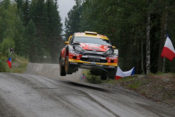 2013 FIA World Rally Championship Round 08-Rally Finland 31/7-3/8 2013. Martin Prokop, Ford WRC, Action  Worldwide Copyright: McKlein/LAT