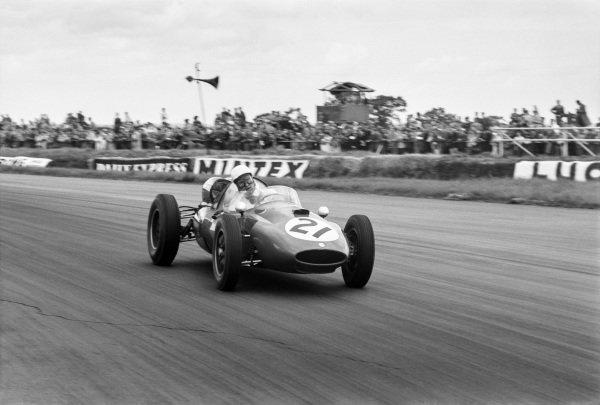 Gino Munaron (Cooper T51-Ferrari), 15th position, action.