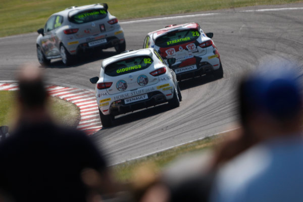 2016 Renault Clio Cup.  Oulton Park, Cheshire. 4th-5th June 2016, Jake Giddings (GBR) Finesse Motorsport Renault Clio Cup World copyright. Jakob Ebrey/LAT Photographic