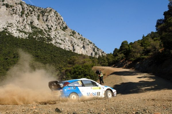 Guy Wilks (GBR), Ford Focus RS WRC, on Stage 10.FIA World Rally Championship, Rd8, Acropolis Rally of Greece, Athens, Greece, Day Two, Saturday 2 June 2007.DIGITAL IMAGE