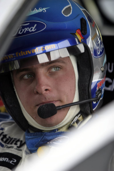 2004 FIA World Rally Champs. Round four, Propecia Rally New Zealand.15th-18th April 2004.Francois Duval, Ford, portrait.World Copyright: McKlein/LAT