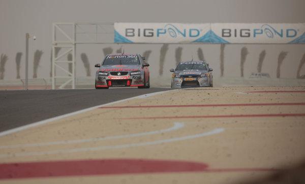 Round 2 - Gulf Air Desert 400Bahrain International Circuit, Sakhir, Bahrain.24th - 27th Febraury 2010.Jamie Whincup of Triple Eight Racing wins race 4.World Copyright: Mark Horsburgh/LAT Photographicref: Digital Image 1-Whincup-EV02-11165
