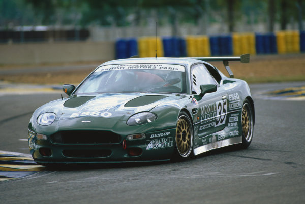 Le Mans, France. 17th - 18th June 1995. Eric Helary/Alain Cudini/Stephane Gregoire (Aston Martin DB7), Did Not Prequalify, action.  World Copyright: LAT Photographic. Ref:  95LM20