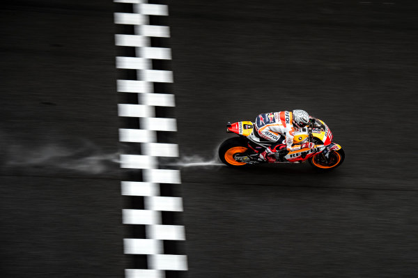 2017 MotoGP Championship - Round 17 Sepang, Malaysia. Friday 27 October 2017 Marc Marquez, Repsol Honda Team World Copyright: Gold and Goose / LAT Images ref: Digital Image 701863