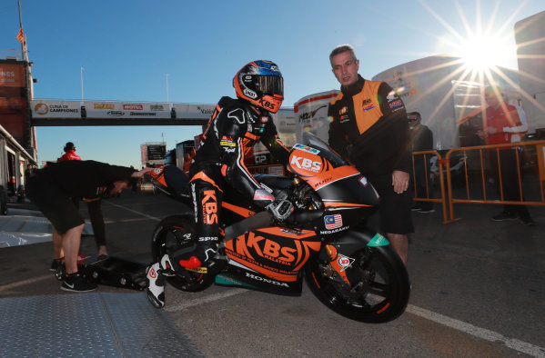 2017 Moto3 Championship - Round 18 Valencia, Spain  Friday 10 November 2017 Adam Norrodin, SIC Racing Team  World Copyright: Gold and Goose Photography/LAT Images  ref: Digital Image 704562
