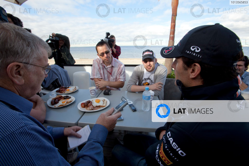Albert Park, Melbourne, Australia23rd March 2011.Mark Webber, Red Bull Racing RB7 Renault.World Copyright: Alastair Staley/LAT Photographicref: Digital Image AS5D5959