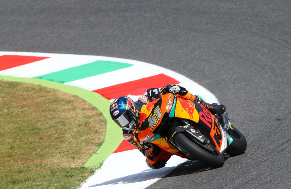 2017 Moto2 Championship - Round 6 Mugello, Italy Friday 2 June 2017 Miguel Oliveira, Red Bull KTM Ajo World Copyright: Gold & Goose Photography/LAT Images ref: Digital Image 673577
