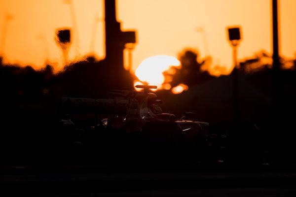 Yas Marina Circuit, Abu Dhabi, United Arab Emirates. Wednesday 29 November 2017. Sebastian Vettel, Ferrari SF70H.  World Copyright: Zak Mauger/LAT Images  ref: Digital Image _56I7222