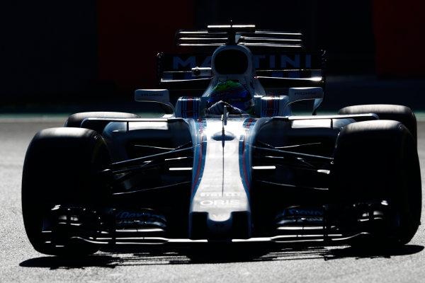 Autodromo Hermanos Rodriguez, Mexico City, Mexico. Friday 27 October 2017. Felipe Massa, Williams FW40 Mercedes.  World Copyright: Sam Bloxham/LAT Images  ref: Digital Image _W6I9419