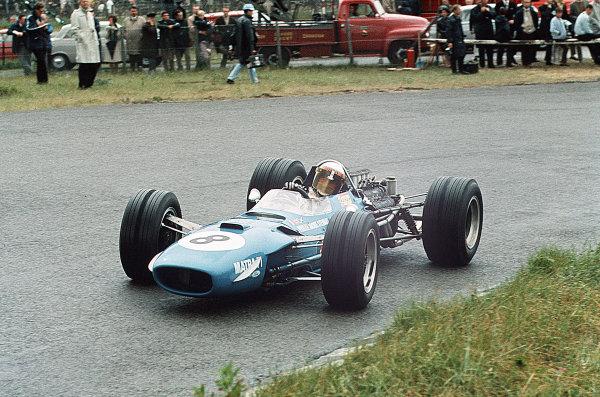 Zandvoort, Holland.21-23 June 1968.Jackie Stewart (Matra MS10-Ford) 1st position.Ref-35mm 68 HOL 12.World Copyright - LAT Photographic