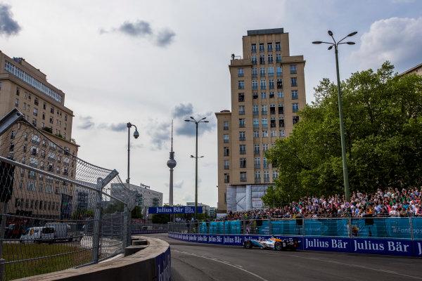2015/2016 FIA Formula E Championship. Berlin ePrix, Berlin, Germany. Saturday 21 May 2016. Rene Rast (GER), Team Aguri - Spark SRT_01E  Photo: Zak Mauger/LAT/Formula E ref: Digital Image _79P3042