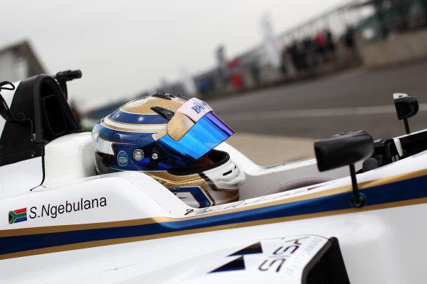 2016 BRDC Formula Three Championship, 11th-12th June 2016, SIlverstone, UK, Sisa Ngebulana (RSA) HHC Motorsport BRDC F3  World copyright. Ebrey/LAT Photographic