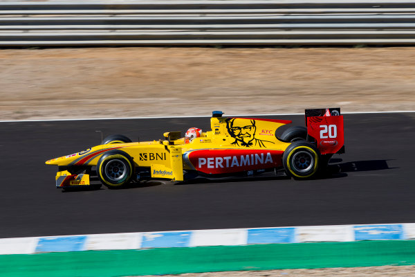 2017 FIA Formula 2 Round 10. Circuito de Jerez, Jerez, Spain. Friday 6 October 2017. Norman Nato (FRA, Pertamina Arden).  Photo: Zak Mauger/FIA Formula 2. ref: Digital Image _X0W1035