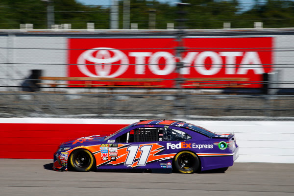 Monster Energy NASCAR Cup Series Federated Auto Parts 400 Richmond Raceway, Richmond, VA USA Friday 8 September 2017 Denny Hamlin, Joe Gibbs Racing, FedEx Express Toyota Camry World Copyright: Lesley Ann Miller LAT Images