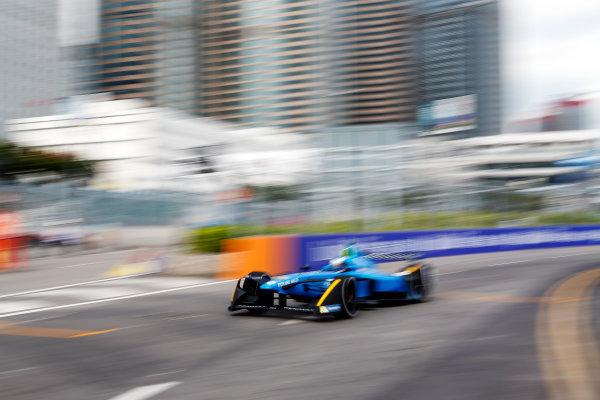 FIA Formula E Hong Kong e-Prix. First Practice Session. Nicolas Prost (FRA), Renault e.Dams, Spark-Renault, Renault Z.E 16. Hong Kong Harbour, Hong Kong, Asia. Sunday 9 October 2016. Photo: Adam Warner / FE / LAT ref: Digital Image _L5R7448