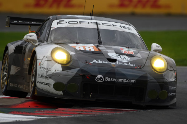 2016 FIA World Endurance Championship, Mexico City, Autodromo Hermanos Rodriguez, 1st-3rd September 2016, Khaled al Qubaisi / David Heinemeier Hansson / Patrick Long - Porsche 911 RSR World Copyright. Jakob Ebrey/LAT Photographic