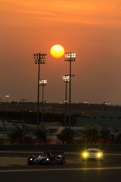 2015 FIA World Endurance Championship Bahrain 6-Hours Bahrain International Circuit, Bahrain Saturday 21 November 2015. Nelson Panciatici, Paul Loup Chatin, Tom Dillmann (#36 LMP2 Signatech Alpine Alpine A450B Nissan). World Copyright: Sam Bloxham/LAT Photographic ref: Digital Image _SBL5252