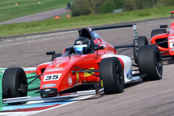 2016 British F4 Championship, Thruxton, 7th-8th My 2016, Harry Hayek (AUS) Jamun Racing-MBM MSA Formula  World copyright. Jakob Ebrey/LAT Photographic