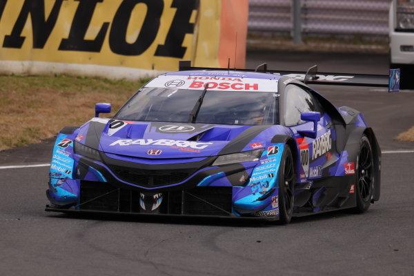 2020 GT500 Drivers' Champions and race winners Naoki Yamamoto & Tadasuke Makino ( #100 RAYBRIG Honda NSX-GT )