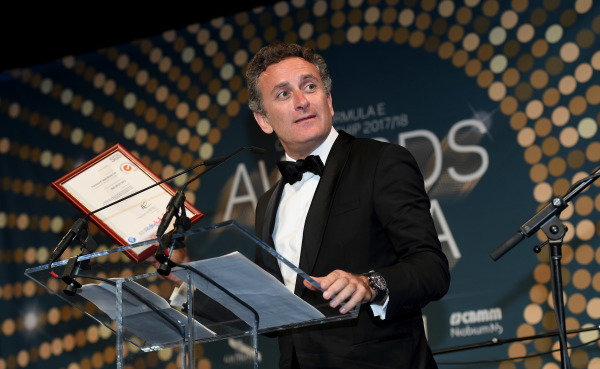 Alejandro Agag, CEO, Formula E, at the Awards Gala.