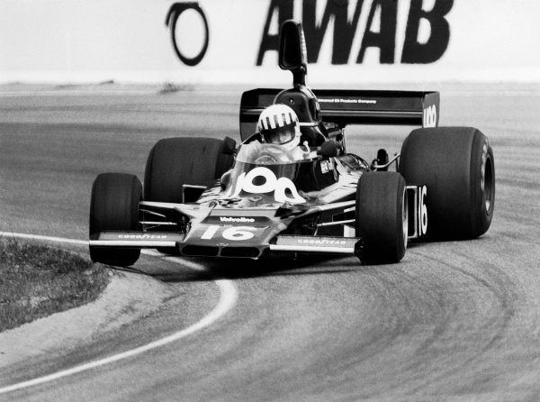 1975 Swedish Grand Prix.Anderstorp, Sweden.6-8 June 1975.Tom Pryce (Shadow DN5 Ford).World Copyright - LAT Photographic