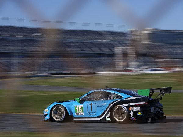 #16 Wright Motorsports Porsche 911 GT3 R, GTD: Ryan Hardwick, Patrick Long, Klaus Bachler
