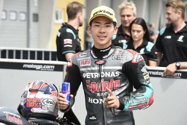 Polesitter Ayumu Sasaki, SIC Racing Team.