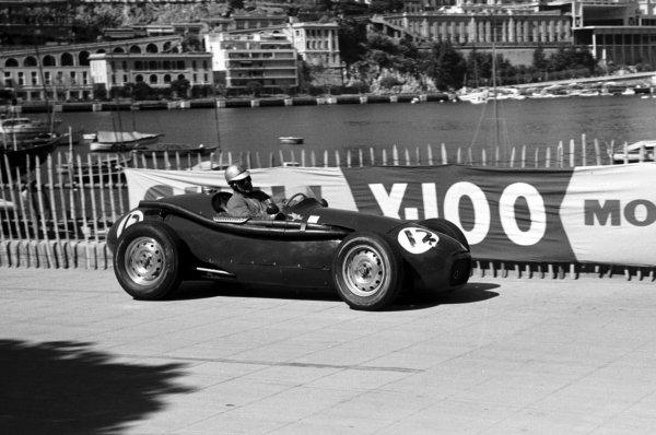 1958 Monaco Grand Prix.Monte Carlo, Monaco.15-18 May 1958.Paul Emery (Connaught B-Alta). He did not qualify. Entered by Bernie Ecclestone.World Copyright- LAT Photographic
